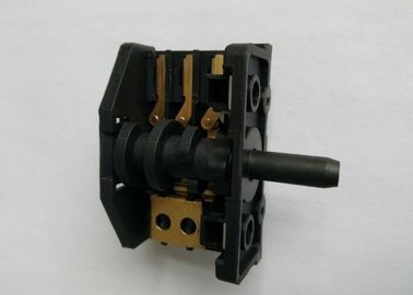 Knob 6 Position Rotary Switch For Oven / Stove 250V 16A Brass Terminal